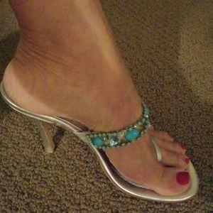 Beautiful  jeweled sandals